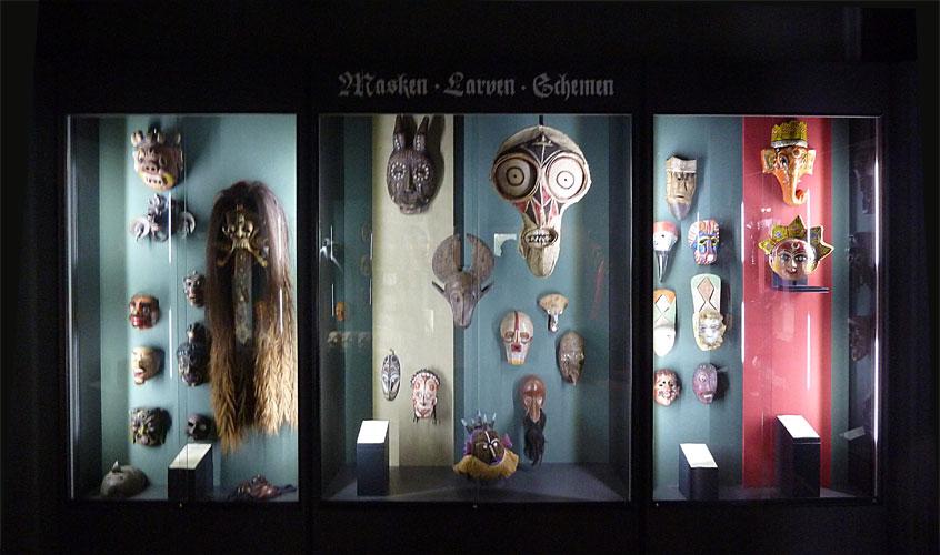 ethnologische Maskensammlung